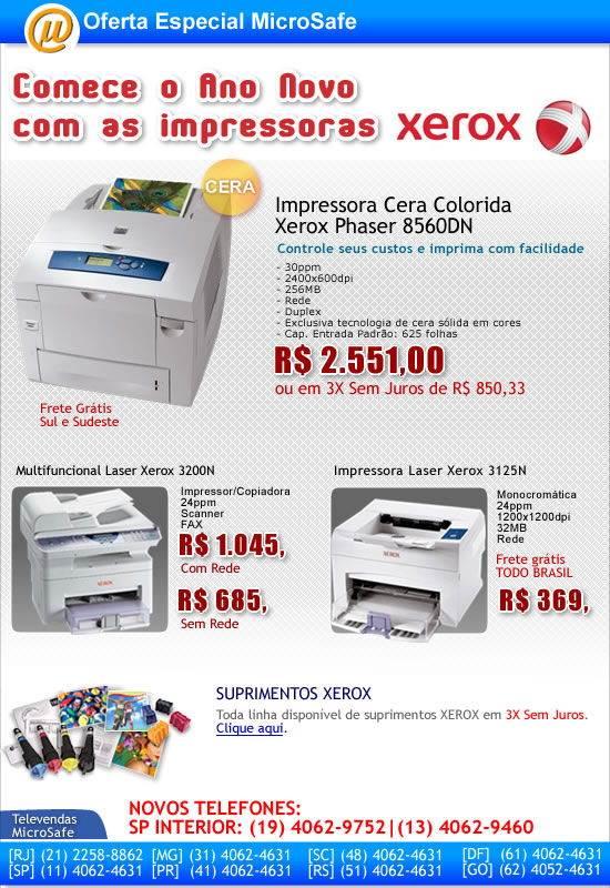 Impressoras XEROX