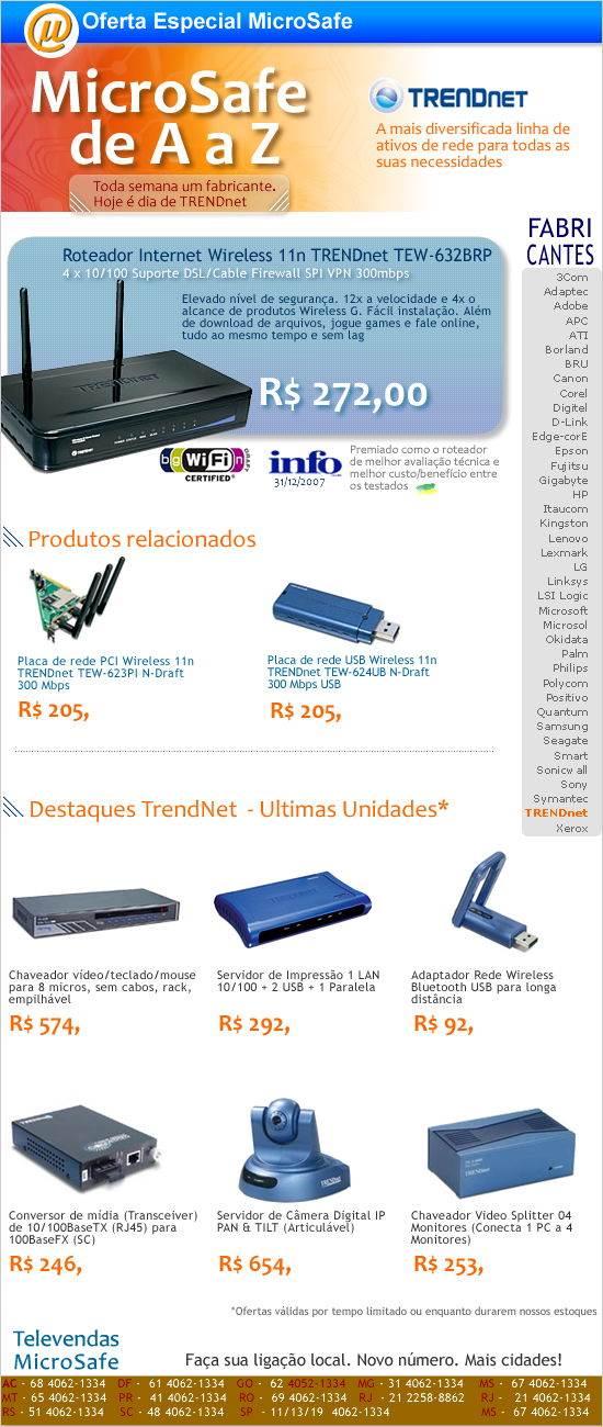 MicroSafe de A a Z - TRENDnet