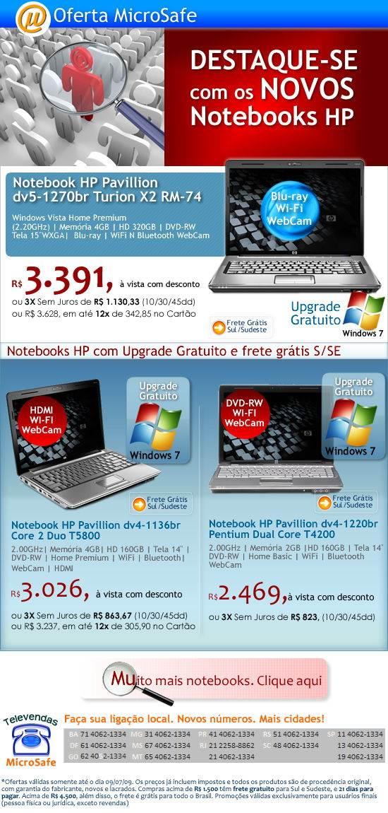 Destaque-se com os novos notebooks HP