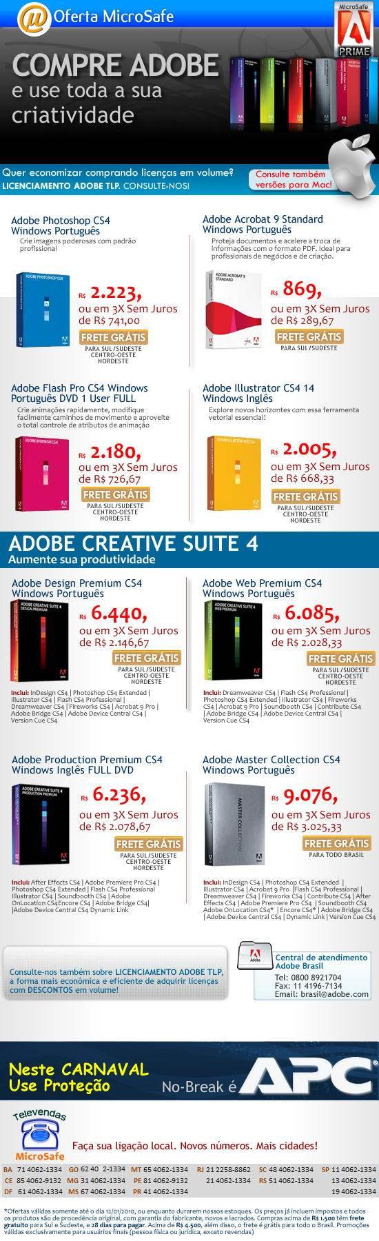 Adobe na Microsafe!