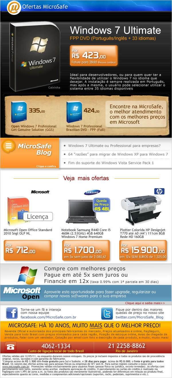 As melhores ofertas da semana na MicroSafe!