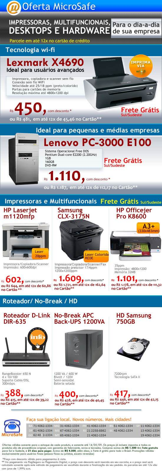 Impressora_Lexmark_wi-fi_apenas_R$450,