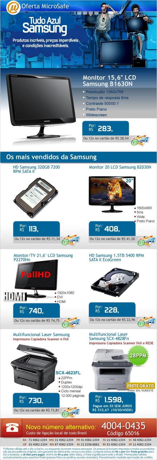 promoção Tudo Azul Samsung!