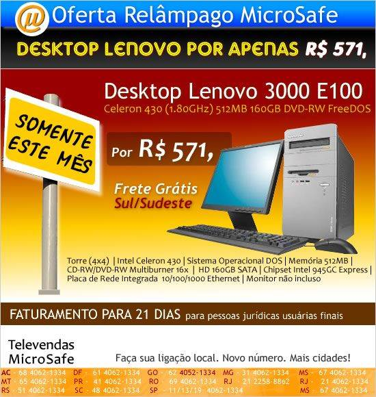Desktop_Lenovo_Apenas_R$ 571_na_MicroSafe