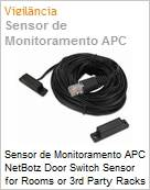Sensor de Monitoramento APC NetBotz Door Switch Sensor for Rooms or 3rd Party Racks 50ft  (Figura somente ilustrativa, não representa o produto real)