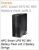 APC Smart UPS RC 96V Battery Pack with 2 Battery Strings  (Figura somente ilustrativa, n�o representa o produto real)