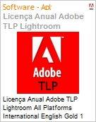 Licen�a anual Adobe TLP Lightroom All Platforms International English Gold 1 Ano Per Seat Pro Min Req  (Figura somente ilustrativa, n�o representa o produto real)