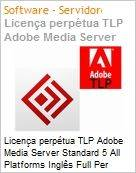 Licen�a perp�tua TLP Adobe Media Server Standard 5 All Platforms Ingl�s Full Per Server  (Figura somente ilustrativa, n�o representa o produto real)