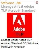 Licen�a anual Adobe TLP Acrobat Standard DC Windows Multi Latin American Languages Subscription 1 Usu�rio Level 1 1 - 49 1 ano - Renova��o  (Figura somente ilustrativa, n�o representa o produto real)