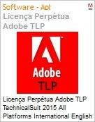 Licen�a Perp�tua Adobe TLP TechnicalSuit 2015 All Platforms International English 1 User  (Figura somente ilustrativa, n�o representa o produto real)
