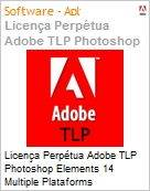 Licen�a Perp�tua Adobe TLP Photoshop Elements 14 Multiple Plataforms International English 1 User  (Figura somente ilustrativa, n�o representa o produto real)