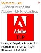 Licen�a Perp�tua Adobe TLP Photoshop PHSP & PREM Elements 14 Multiple Platforms International English 1 User  (Figura somente ilustrativa, n�o representa o produto real)