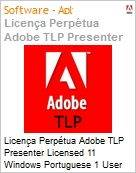 Licen�a Perp�tua Adobe TLP Presenter Licensed 11 Windows Portuguese 1 User  (Figura somente ilustrativa, n�o representa o produto real)