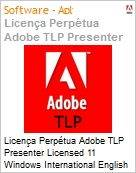 Licen�a Perp�tua Adobe TLP Presenter Licensed 11 Windows International English 1 User  (Figura somente ilustrativa, n�o representa o produto real)