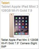 Tablet Apple iPad Mini 3 128GB Wi-Fi Gold 7.9 Camera iSight 5MP  (Figura somente ilustrativa, n�o representa o produto real)