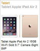 Tablet Apple iPad Air 2 16GB Wi-Fi Gold 9.7 Camera iSight 8MP  (Figura somente ilustrativa, n�o representa o produto real)