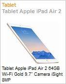 Tablet Apple iPad Air 2 64GB Wi-Fi Gold 9.7 Camera iSight 8MP  (Figura somente ilustrativa, n�o representa o produto real)