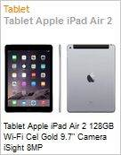 Tablet Apple iPad Air 2 128GB Wi-Fi Cel Gold 9.7in Camera iSight 8MP  (Figura somente ilustrativa, n�o representa o produto real)
