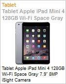 Tablet Apple iPad Mini 4 128GB Wi-Fi Space Gray 7.9 8MP iSight Camera  (Figura somente ilustrativa, n�o representa o produto real)