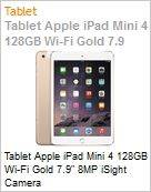 Tablet Apple iPad Mini 4 128GB Wi-Fi Gold 7.9 8MP iSight Camera  (Figura somente ilustrativa, n�o representa o produto real)
