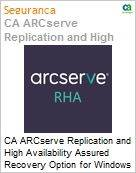 Licen�a anual CA Arcserve Replication and High Availability Assured Recovery Option for Windows - Maintenance Renewal - 1 Year Enterprise Maintenance Renewal [Renova��o] (Figura somente ilustrativa, n�o representa o produto real)