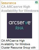 Licen�a anual CA Arcserve High Availability for Windows Cluster Resource Group with Assured Recovery - Maintenance Renewal - 1 Year Enterprise Maintenance Renewal [Renova��o] (Figura somente ilustrativa, n�o representa o produto real)