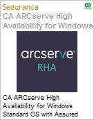 Licen�a anual CA Arcserve High Availability for Windows Standard OS with Assured Recovery - Maintenance Renewal [Renova��o] - 1 Year Enterprise Maintenance Renewal [Renova��o] (Figura somente ilustrativa, n�o representa o produto real)