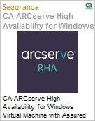 Licen�a anual CA Arcserve High Availability for Windows Virtual Machine with Assured Recovery - Maintenance Renewal [Renova��o] - 1 Year Enterprise Maintenance Renewal [Renova��o] (Figura somente ilustrativa, n�o representa o produto real)