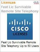 Feat Lic Survivable Remote Site Telephony Up to 50 Users  (Figura somente ilustrativa, n�o representa o produto real)