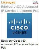 Edelivery Cisco 880 Advanced IP Services License Pak  (Figura somente ilustrativa, n�o representa o produto real)