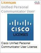 Cisco Unified Personal Communicator User License  (Figura somente ilustrativa, n�o representa o produto real)
