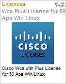 Cisco Wcs with Plus License for 50 Aps Win/Linux  (Figura somente ilustrativa, n�o representa o produto real)