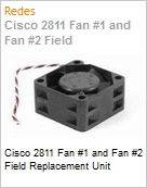 Cisco 2811 Fan #1 and Fan #2 Field Replacement Unit (Figura somente ilustrativa, n�o representa o produto real)