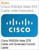 Cisco RS530A Male DTE Cable with Extended Control Leads  (Figura somente ilustrativa, n�o representa o produto real)