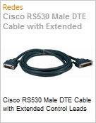 Cisco RS530 Male DTE Cable with Extended Control Leads  (Figura somente ilustrativa, n�o representa o produto real)