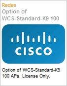 Option of WCS-Standard-K9 100 APs. License Only.  (Figura somente ilustrativa, n�o representa o produto real)