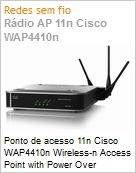 Ponto de acesso 11n Cisco WAP4410n Wireless-n Access Point with Power Over Ethernet  (Figura somente ilustrativa, n�o representa o produto real)