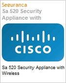 Sa 520 Security Appliance with Wireless  (Figura somente ilustrativa, n�o representa o produto real)