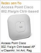 Access Point Cisco 802.11a/g/n Ctrlr-based AP w/CleanAir; Int Ant; Reg Domain  (Figura somente ilustrativa, n�o representa o produto real)