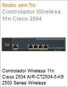 Controlador Wireless 11n Cisco 2504 AIR-CT2504-5-K9 2500 Series Wireless Controllers  (Figura somente ilustrativa, n�o representa o produto real)