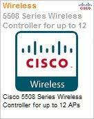 Cisco 5508 Series Wireless Controller for up to 12 APs  (Figura somente ilustrativa, n�o representa o produto real)