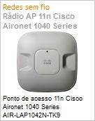 Ponto de acesso 11n Cisco Aironet 1040 Series AIR-LAP1042N-TK9 802.11a/g/n Fixed Unified Access Point  (Figura somente ilustrativa, n�o representa o produto real)