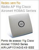 Ponto de acesso 11g Cisco Aironet 1130AG Series AIR-LAP1131AG-E-K9 IEEE 802.11A/B/G Access Point Unified Wireless Network Software  (Figura somente ilustrativa, n�o representa o produto real)