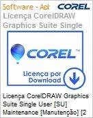 Licen�a CorelDRAW Graphics Suite Single User [SU] Maintenance [Manuten��o] [2 Anos] ES/BP/EN Windows  (Figura somente ilustrativa, n�o representa o produto real)
