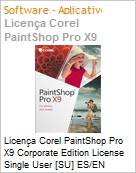 Licença Corel PaintShop Pro X9 Corporate Edition License Single User [SU] ES/EN Windows  (Figura somente ilustrativa, não representa o produto real)