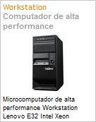 Microcomputador de alta performance Workstation Lenovo E32 Intel Xeon Quad-Core E3-1225 v3 (3.20GHz) 8GB 500GB DVD-RW Windows 7 Professional  (Figura somente ilustrativa, não representa o produto real)