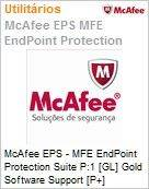 Intel Security McAfee EPS - MFE Endpoint Protection Suite P:1 [GL] Gold Software Support [P+] ProtectPLUS (101-250 licenças)  (Figura somente ilustrativa, não representa o produto real)