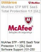 Intel Security McAfee STP - MFE SaaS Total Protection 1:1 [GL] Gold Software Support (101-250 licen�as)  (Figura somente ilustrativa, n�o representa o produto real)