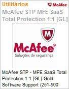 Intel Security McAfee STP - MFE SaaS Total Protection 1:1 [GL] Gold Software Support (251-500 licen�as)  (Figura somente ilustrativa, n�o representa o produto real)