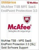 Intel Security McAfee TSB - MFE SaaS Endpoint Protection 3:3 [GL] Gold Software Support (501-1000 licen�as)  (Figura somente ilustrativa, n�o representa o produto real)